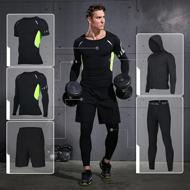 men facbric activewear