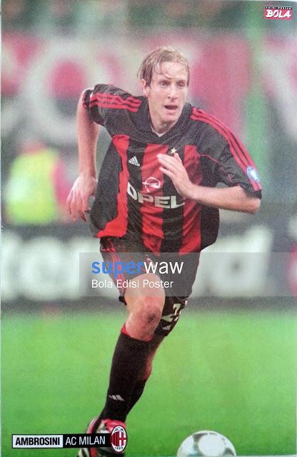 Poster Massimo Ambrosini (AC Milan)
