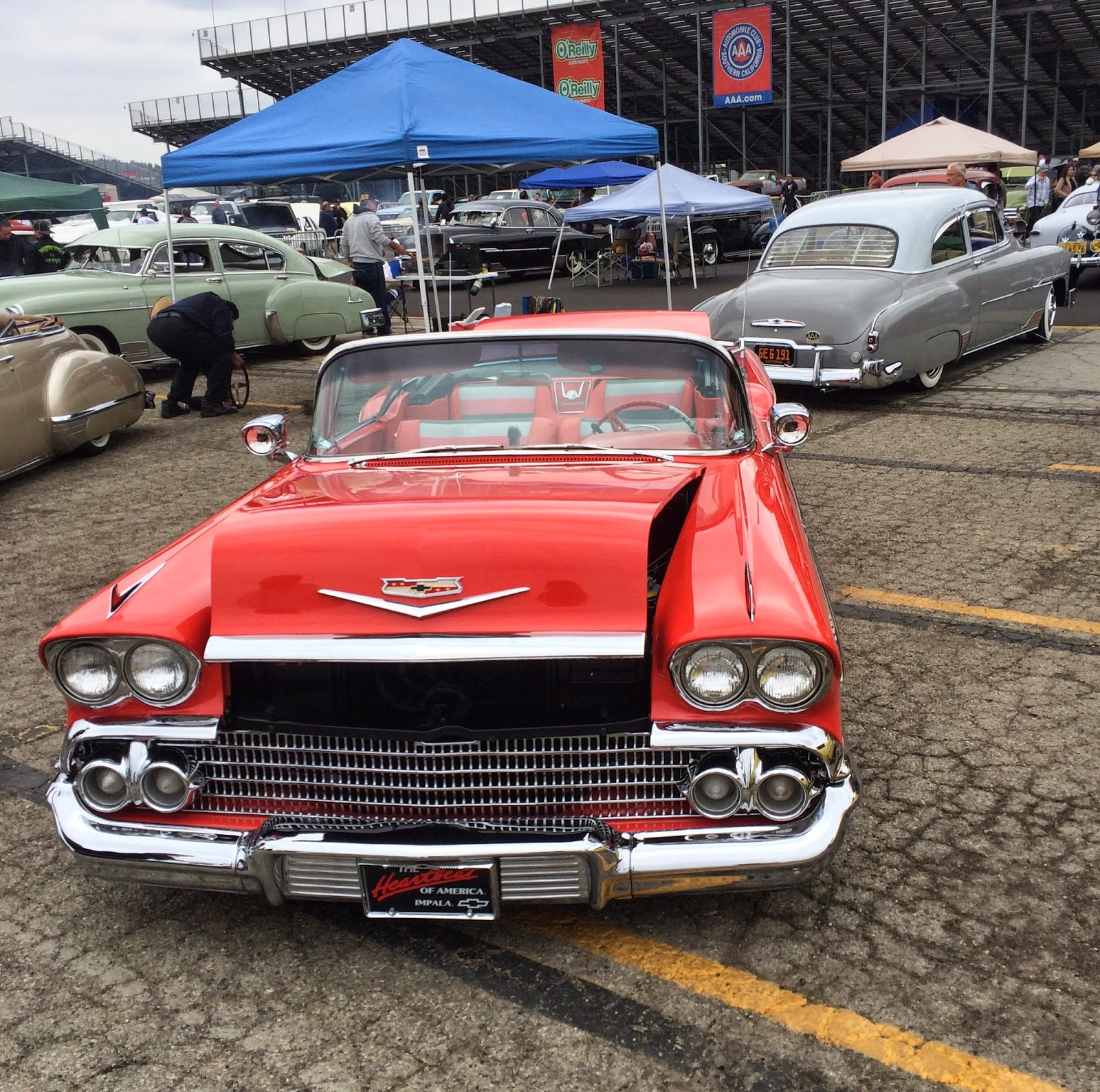 Covering Classic Cars : Pomona Swap Meet April 2014 Photo