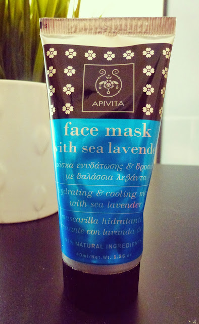apivita μάσκα με θαλάσσια λεβάντα