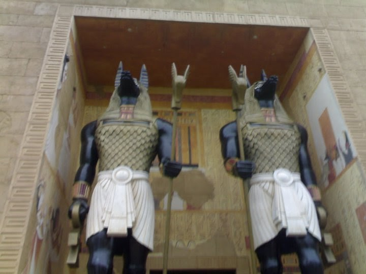 Universal Studio Singapore: Ancient Egypt Anubis Palace