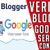 How to submit and verify your blog to google search console
