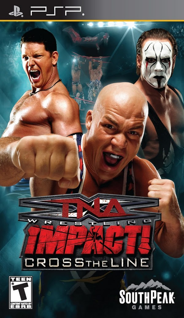 TNA Impact Cross The Line  | PPSSPP Android