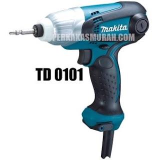 mesin-bor-obeng-listrik-makita-TD0101-elektrik-harga-LIGHT-WEIGHT-IMPACT-DRIVER-T-TYPE-dealer-jakarta