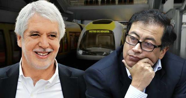Gustavo Petro y Enrique Peñalosa, Terrorismo Mediático, Todas Las Sombras. Fuente: http://todaslassombras.blogspot.com/2016/11/terrorismo-mediatico.html