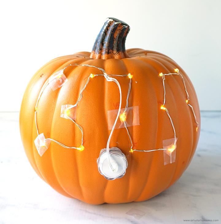 Pumpkin with Lights