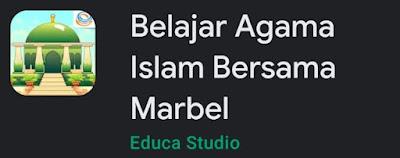 Game Marbel Muslim Kids + Seri Belajar Agama Islam