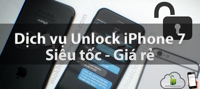 Dịch vụ unlock iphone xách tay tại TP.HCM