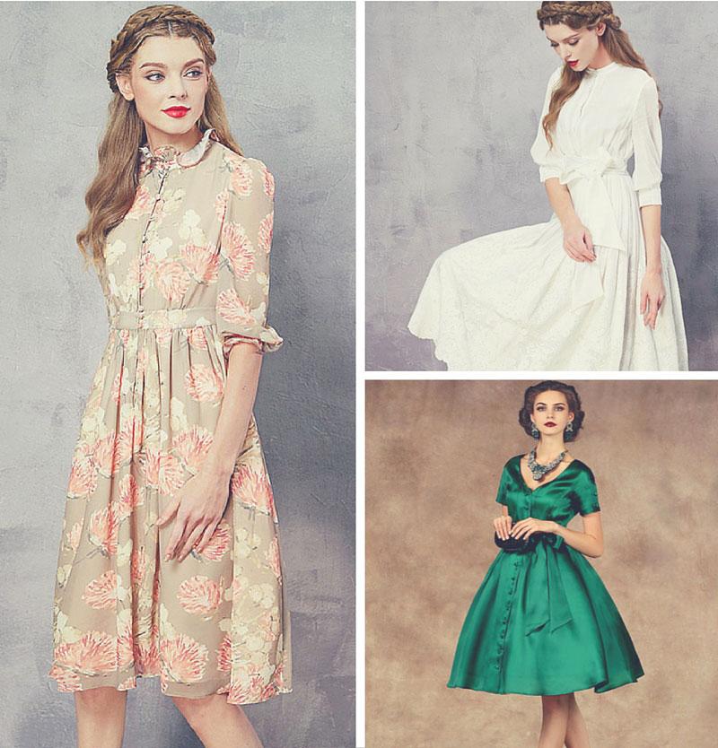 shop audrey hepburn style dresses