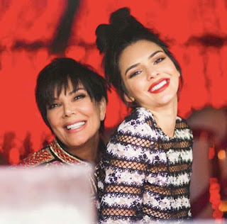 Kendall Jenner looks like mom Kris Jenner's twin in throwback modeling pictures