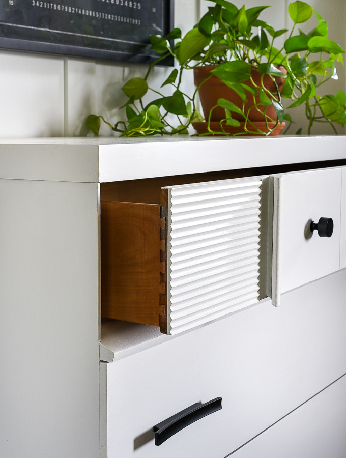 Dove tail furniture drawers