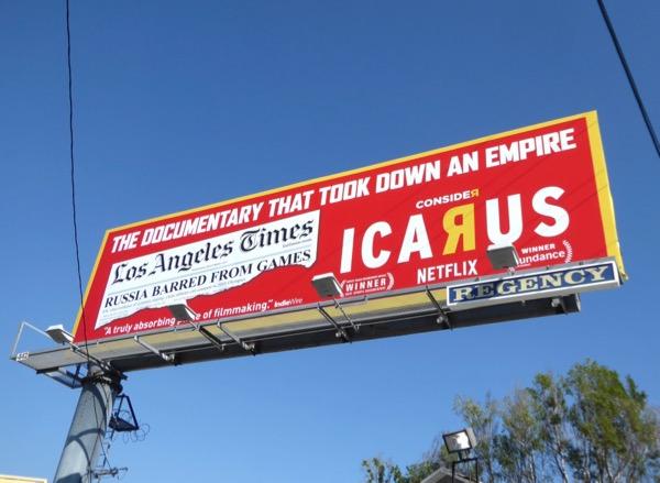 Consider Icarus Netflix billboard