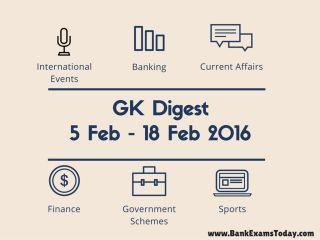 GK Digest Weekly