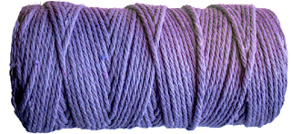 cotton cord light purple