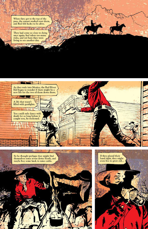 Page from Pulp original graphic novel