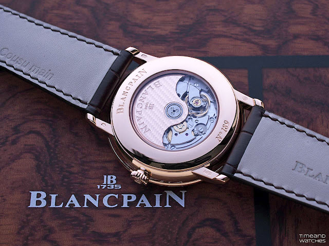 Blancpain Villeret GMT Date, the 5A50 self-winding movement