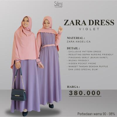 Zarra Dress Koleksi Terbaru Silmi.