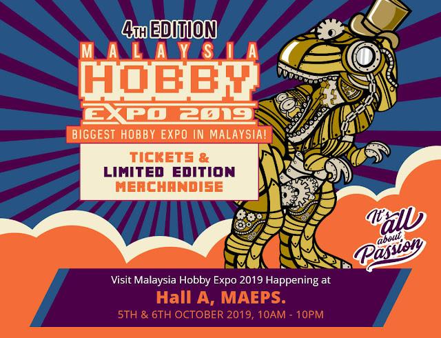Malaysia Hobby Expo 2019: 4th Edition (MHX)