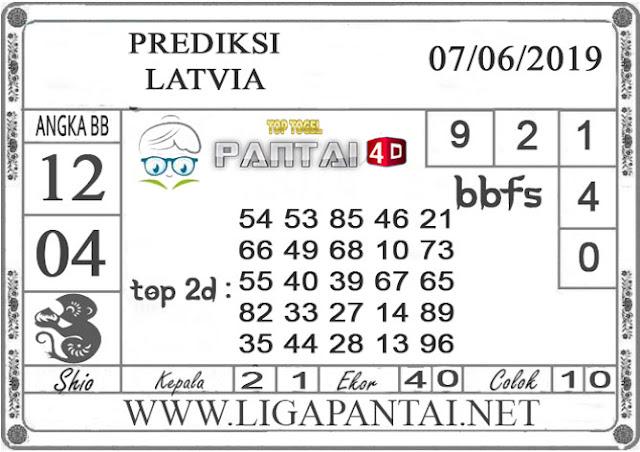 """Prediksi Togel """"LATVIA"""" PANTAI4D 07 JUNI 2019"""