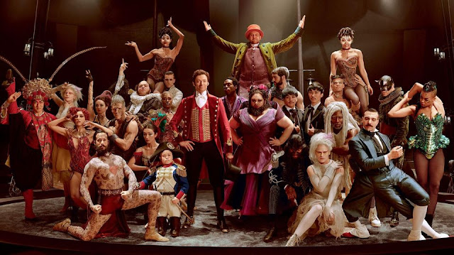 la troupe de the greatest showman