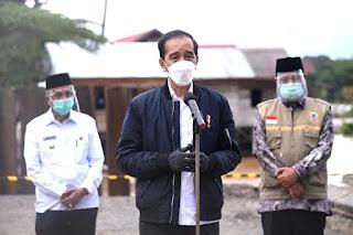 Presiden Instruksikan Perbaikan Sarana Penghubung yang Rusak Akibat Banjir di Kalimantan Selatan