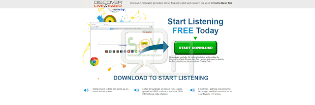 Discover Live Radio Toolbar