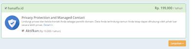 Cara Beli Domain blogspot.com Jadi (.com, .id atau .org)