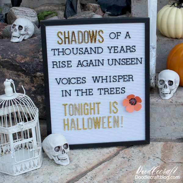 I just love Halloween! So many fun ways to celebrate all month or 2 long!
