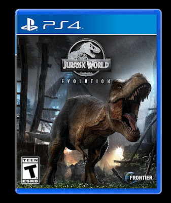 Jurassic World Evolution Game Cover Ps4