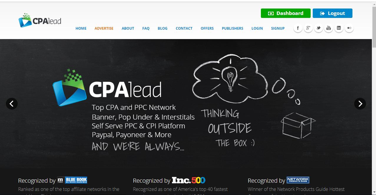 طريقة صحيحة للتسجيل في موقع cpalead