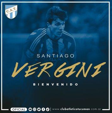Oficial: Atlético Tucumán ficha a Vergini