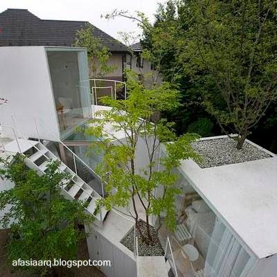 El blog de tuico arquitectura de casas for Casa moderna japonesa