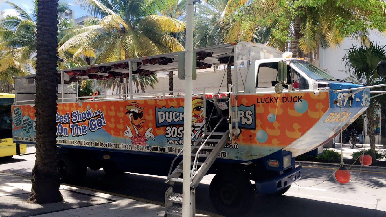 Duck Boat Miami