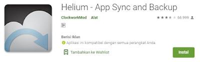 Aplikasi Helium
