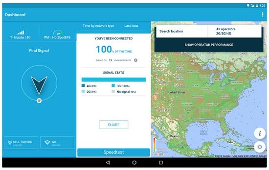 aplikasi mengecek sinyal 3G dan 4G