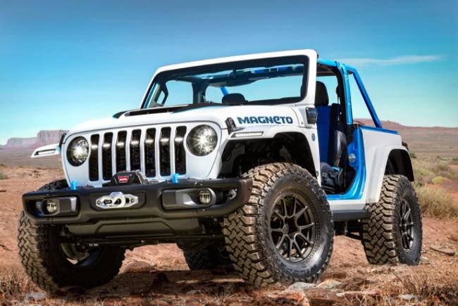 Jeep Wrangler Magneto EV