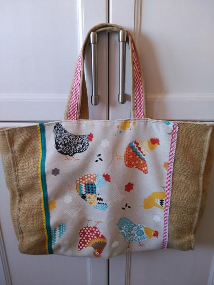 bolso, tote bag, bolso compra, costura, couture, sewing, reciclando