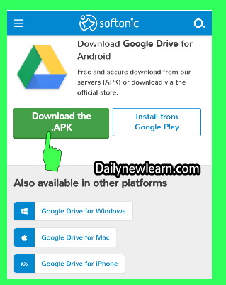 17 Ways To Download Google Drive Files and Apk in android | iPhone | Computer