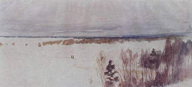 Исаак Ильич Левитан - Зима. 1895