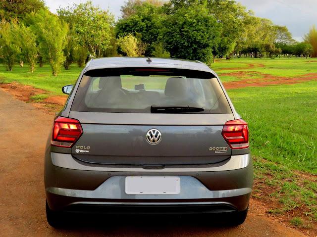 Fiat Argo x VW Polo - traseira