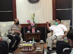 Pasca Pembubaran Aksi, Kapolresta Banyumas Silaturahmi Dengan Rektor UMP