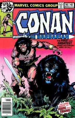 Conan the barbarian #96