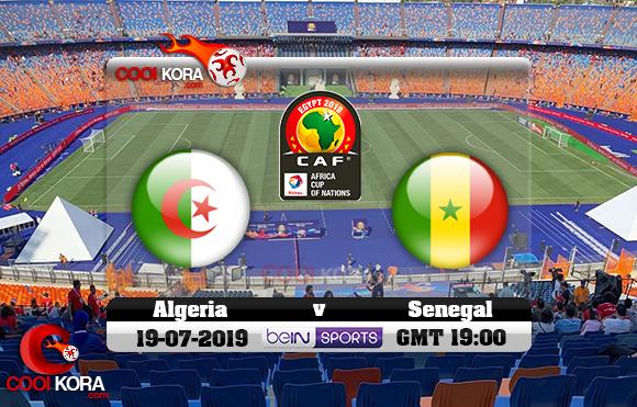 مشاهدة مباراة الجزائر والسنغال اليوم 19-7-2019 علي بي أن ماكس نهائي كأس الأمم الأفريقية 2019