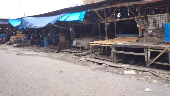 Pedagang Wafat Positif Corona, 1 Blok di Pasar Melati Medan Dikosongkan