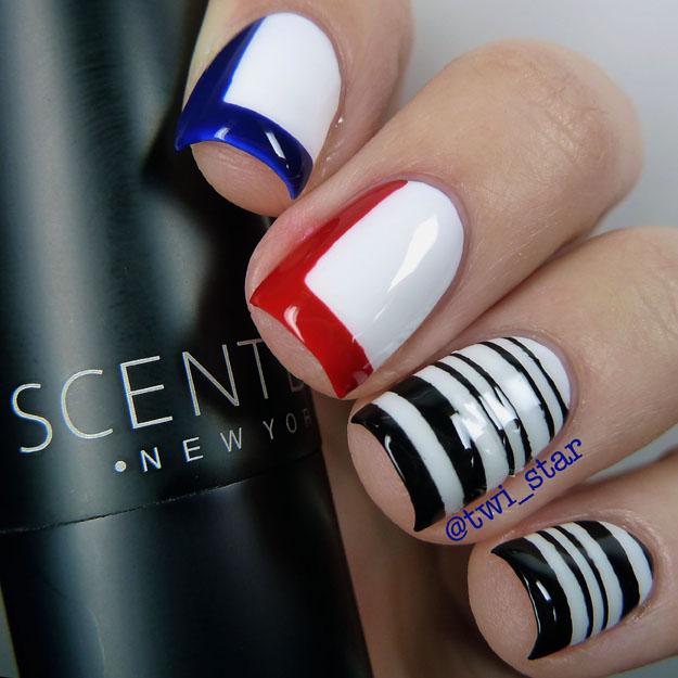 ScentBird Review Balenciaga Florabotanica Inspired nail art