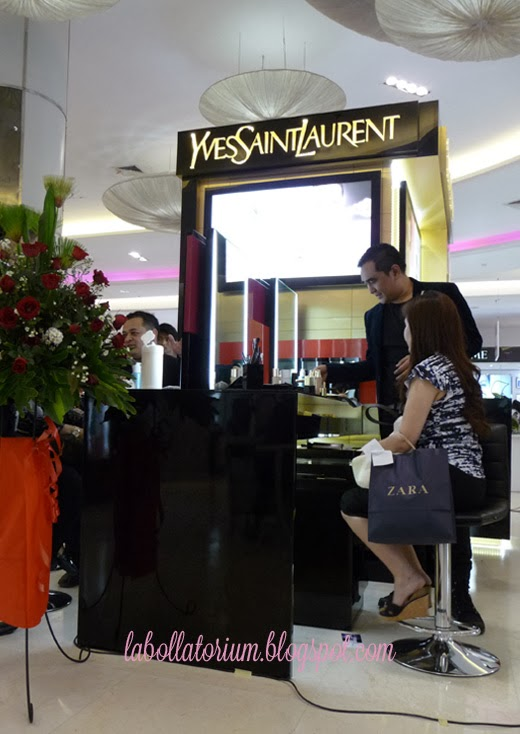 Beauty Event - Romancing with YSL (Yves Saint Laurent) Free Makeup