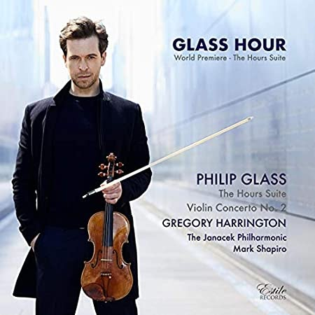 Philip Glass, The Glass Hour, Gregory Harrington, World Premiere of The Hours Suite, Janacek Philharmonic, Mark Shapiro