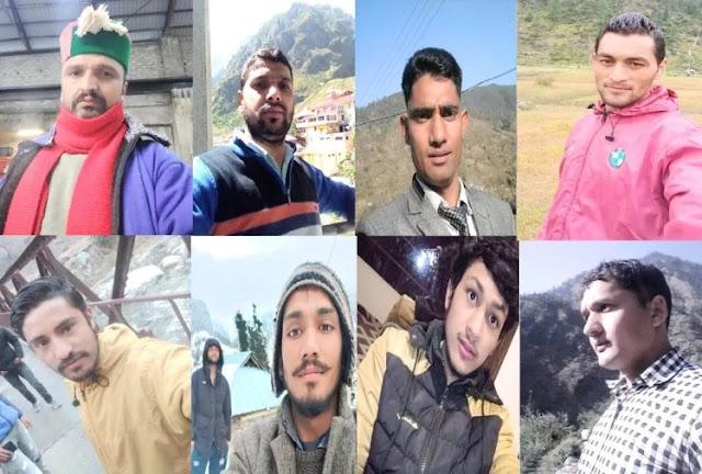 हिमाचल के 8 युवक लापता, परिजन बेहाल, नहीं हो पा रहा संपर्क