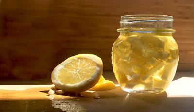 Lemon juice and Glycerin