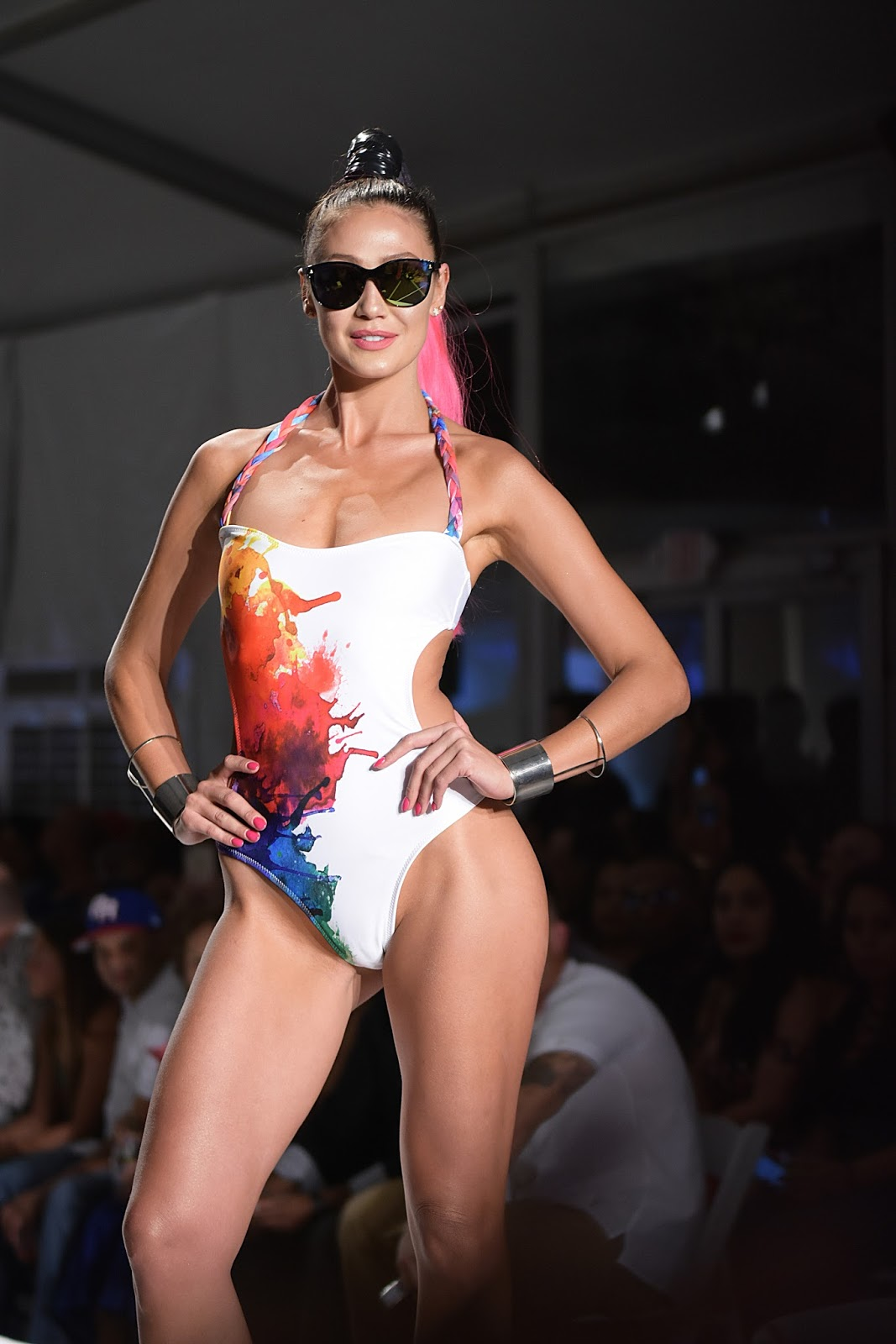 Swim Miami: Day 2, Sports Illustrated, swimwear, miami swimweek 2017, swim week, Gottex, Duskii, Lila Nikole, Frankies